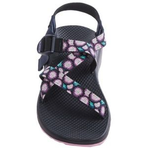 Chaco Z1 Classic Sport Sandals Purple Dots